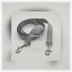 Führhalsband aus Rindsleder (Vollleder) mit Ornament, 24 cm bis 28 cm
